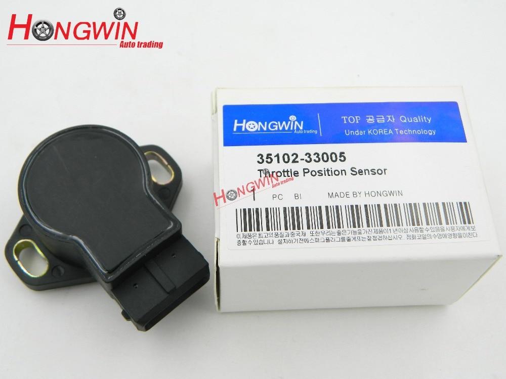 Throttle Position Sensor TPS Adapte Hyundai Excel 1.5 GALLOPER Scoupe Elantra 92-95 Sonata 35102-33005/3510233005/35102 33005