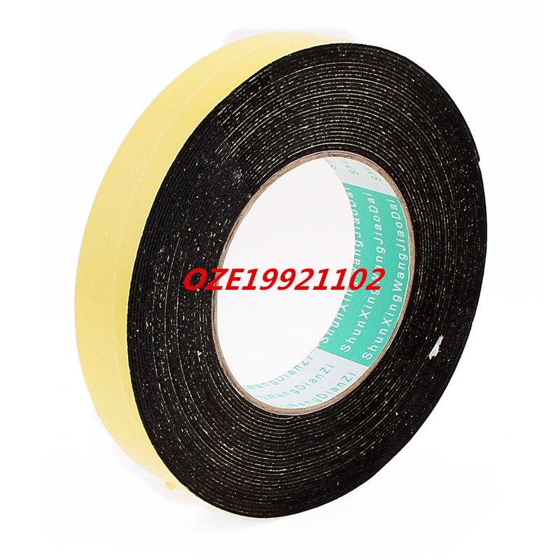 1PCS 10 Meters 25mm x 1mm Single Side Adhesive EVA Foam Sealing Tap 85mm 33 meters 0 08mm single side high