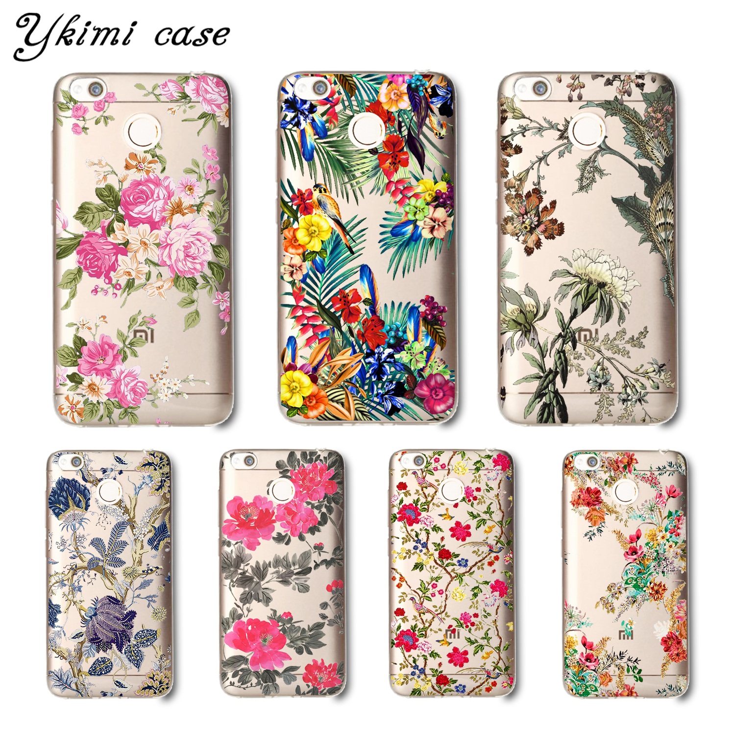 Aliexpress buy fashion transparent soft silicone tpu capa for aliexpress buy fashion transparent soft silicone tpu capa for xiaomi redmi 4x cover case beautiful cartoon flower design phone shell from reliable izmirmasajfo Gallery