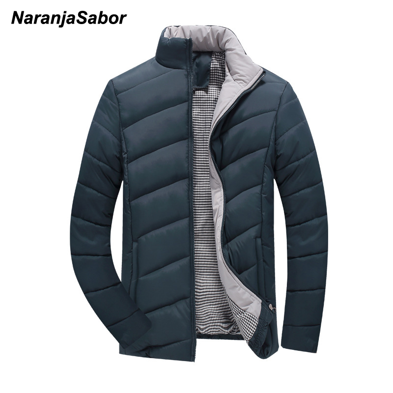 NaranjaSabor Mens Brand Clothing Men's Coats Warm Parka 2018 Winter Thick Mens Jackets Breathable Coat Male Overcoat Outwear 5XL