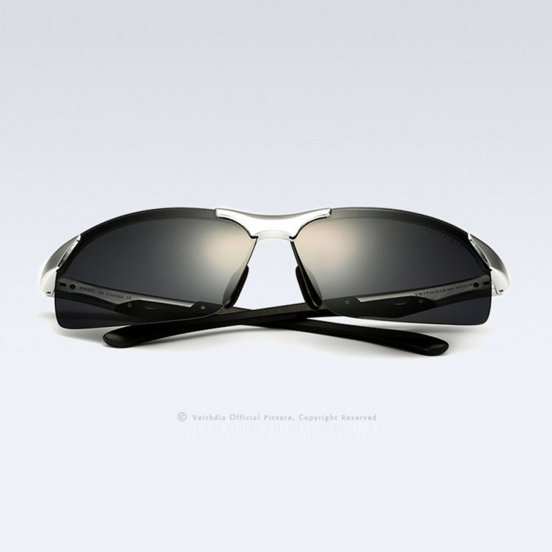 ≧Nueva moda hombres lente polarizada gafas media Marcos Gafas de ...