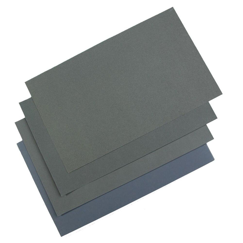 Hot Sale 6 Pcs/Set Sand Paper Waterproof Abrasive Papers P600/1000/1200/1500/2000/2500 TY