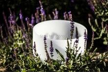 432 Гц 8 «Note C/D/E/F/G/A/B кварцевые хрустальные поющие чаши для звуковой терапии с одним бесплатным замшевым и уплотнительным кольцом