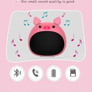 Image 5 - Zélot S28 véritable sans fil stéréo Mini Bluetooth Animal sans fil haut parleur pour enfants étanche, invite vocale, carte, radio,