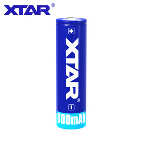 Image 2 - 1 pcs 원래 xtar 충전식 14500 800 mah 3.7 v 보호 된 배터리 손전등에 대 한 설계 휴대용 전원 공급 장치 등