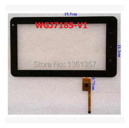 New original 7 inch tablet capacitive touch screen WGJ7185-V1 free shipping