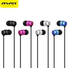 Awei ES-970i In-ear Dynamic Driver Wired Control Heavy Bass Earphone Earbuds