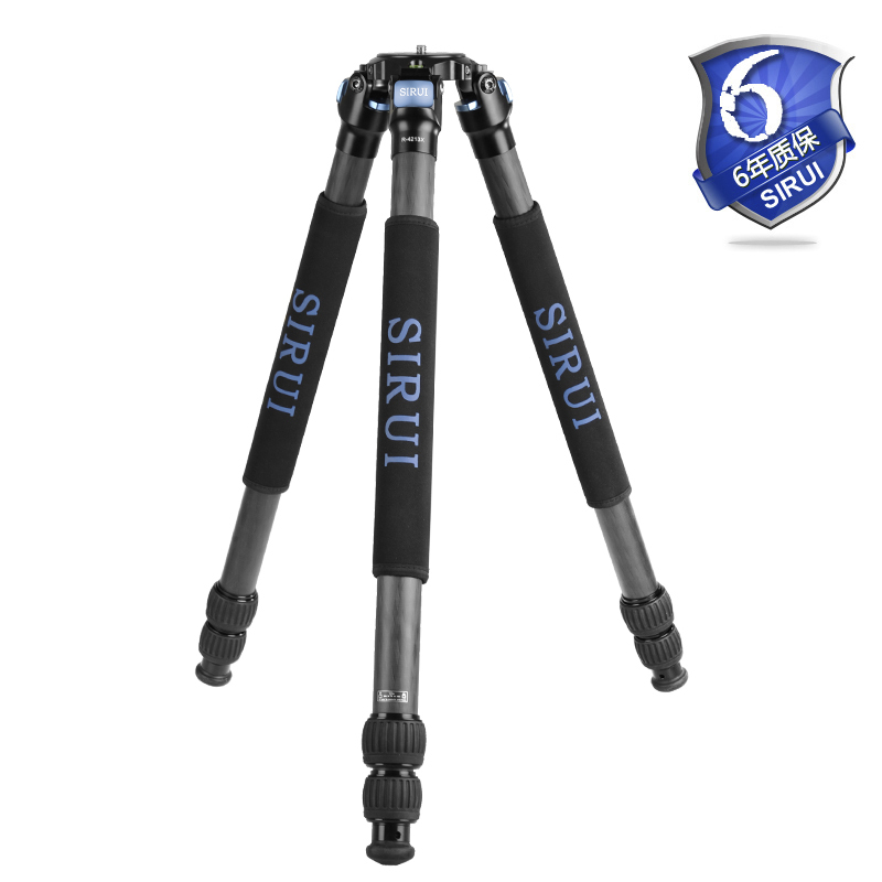 Sirui R-4213X Pro Carbon Fiber Stable Video Tripod For Canon Nikon Sony SLR Camera Digital Camcorder Tripod Bag Max loading 25kgSirui R-4213X Pro Carbon Fiber Stable Video Tripod For Canon Nikon Sony SLR Camera Digital Camcorder Tripod Bag Max loading 25kg