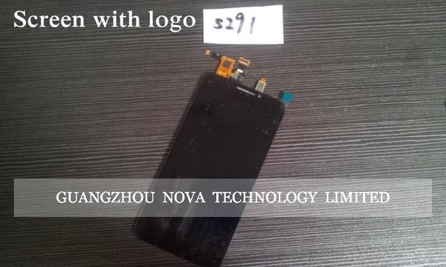 100% original pantalla lcd de repuesto asamblea digitalizador de pantalla táctil para zte grand s2 s 2 sii s291 + 3 m pegatina con el seguimiento