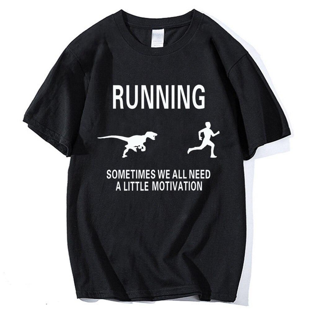 Funny man's T-Shirt sometimes we all need a little Motivation Tee shirt 2018 Summer Men Short Sleeve O-Neck Casual Tops