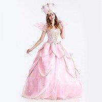The Flower Angel Hana No Ko Lunlun Cosplay Dress Halloween Christmas Fantasia Adult Women Costume New