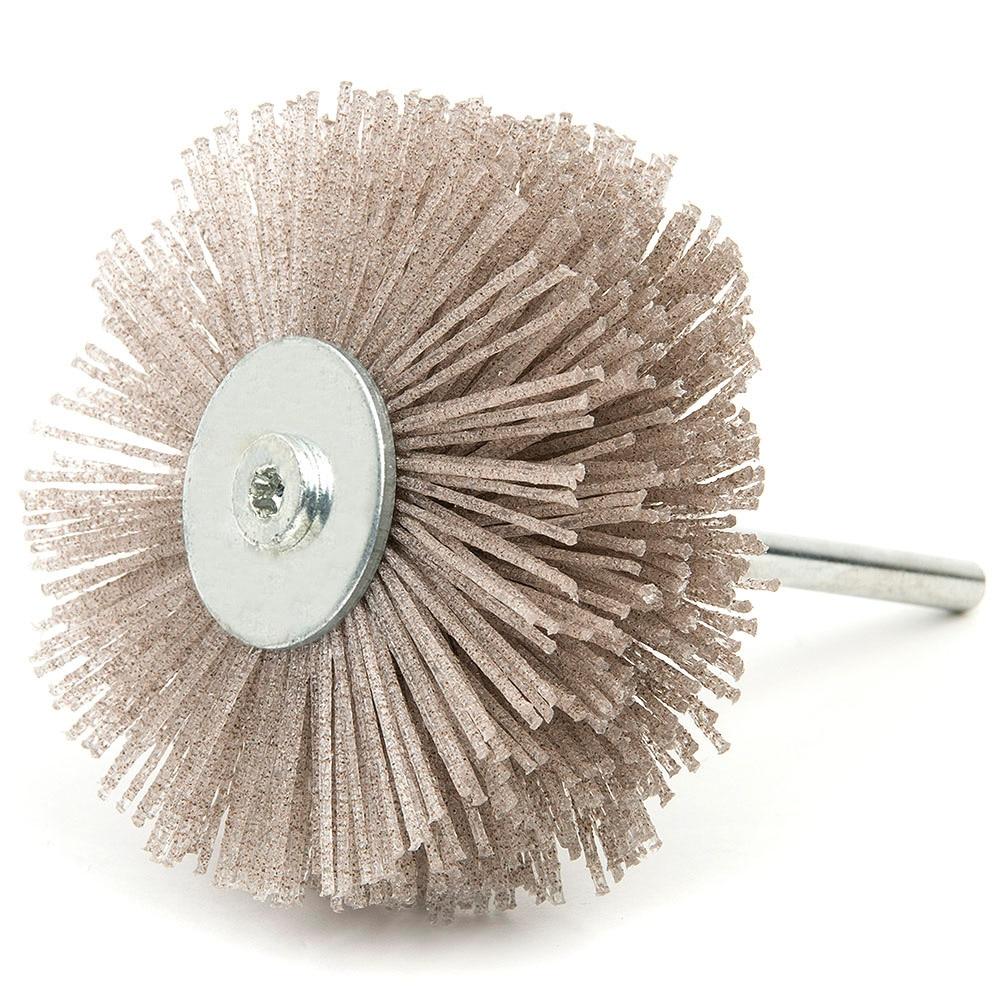120 180 320 Mesh Abrasive Wire Polishing Wheel Brush