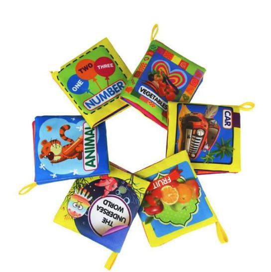 2019 книжки из мягкой ткани для маленьких мальчиков и девочек, милые детские книги 0-12 месяцев, погремушка, игрушка, детская кроватка, ткань, Детские Игрушки для раннего развития