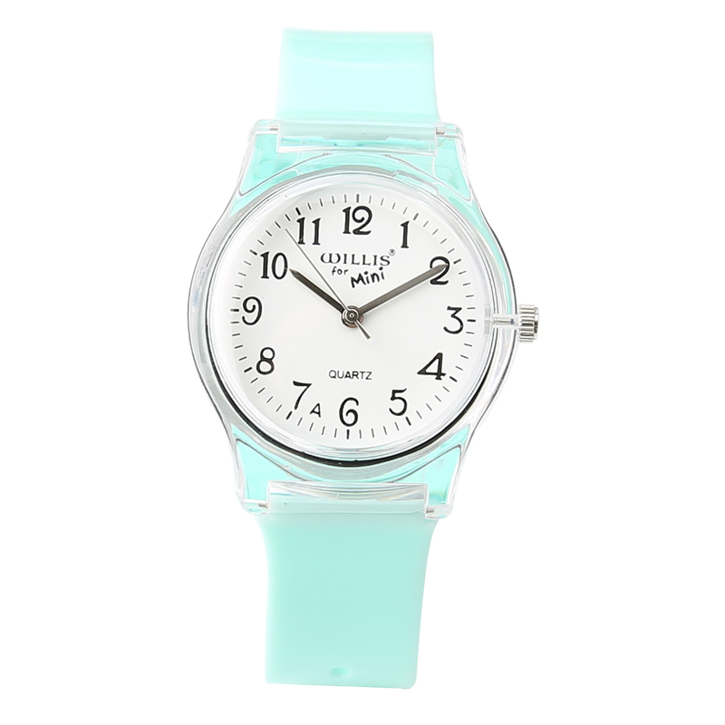 New Fashion Mini Women Transparent Watch Silicone Table Girls Boys Table Waterproof Ladies Watch Children Sports Jelly Watches new fashion design unisex sport watch silicone multi purpose date time electronic wrist calculator boys girls children watch