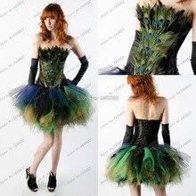 2016 neue Ankunft Feder Kleider Applique Ballkleid Schatz Bunten Tüll Homecoming Kleid Short Prom Kleid Robe De Cocktail