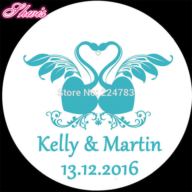 100pcs Wedding Sticker Labels Pegatinas Boda Bridal Shower Favor Invitation Envelope Seal Stickers Favors Etiquette
