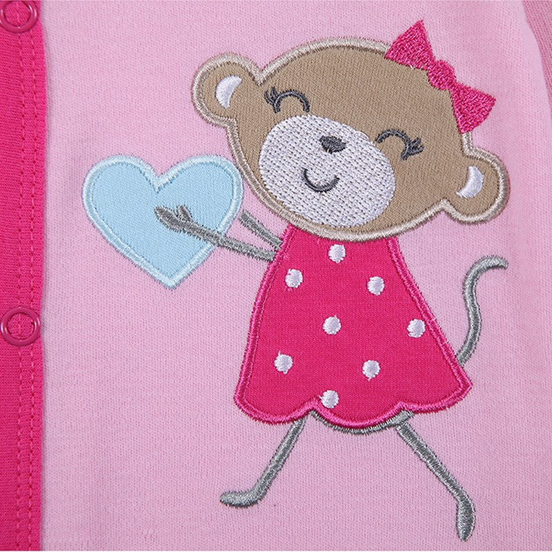2016 Spring Autumn Baby Romper Long Sleeves Baby Clothes Baby Boy Clothes Cartoon Animal Jumpsuit Baby Girl Romper Baby Clothing (2)
