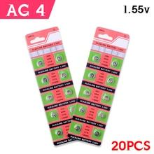 20Pieces 1.55V SR626SW 377 V377 177 L626 AG4 SR66 Button Coin Cell Battery Batteria