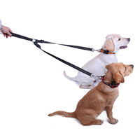 Двойной головкой djustable собака кошка автомобильный ремень Детская безопасность приводит автомобиля ремня безопасности проводка нейлон сде...