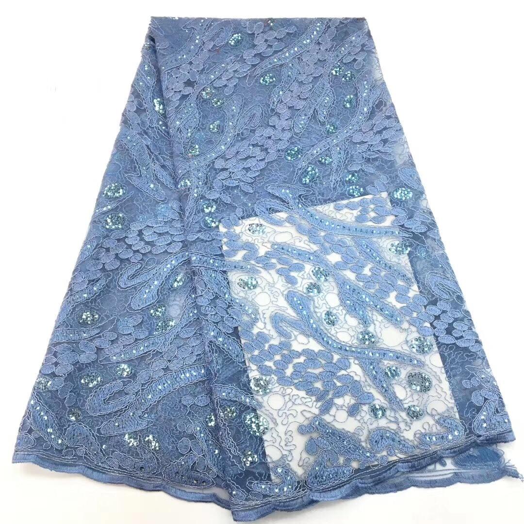 ac8a7b4a402 Одежда Швейные и ткань Чистая Пряжа вышивка шифон цветок кружевной ткани  сетки Материал DIY платье Костюмы