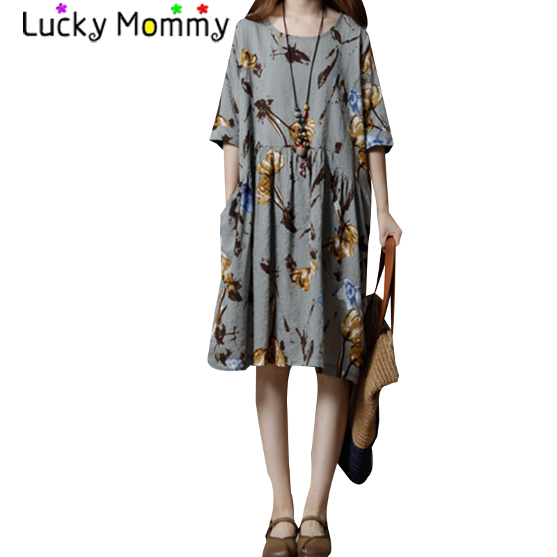 Floral Print Bohemian Maternity Dress Summer Maternity Boho Clothes 2017 Short Sleeve Pregnancy Clothing for Pregnant Women