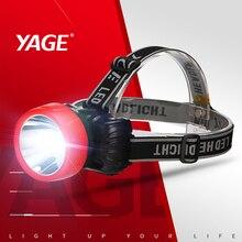 YAGE LED headlamp fishing headlight Waterproof Head Torch flashlight Head lamp Rechargeable Battery Mini LED Bicycle Head Light