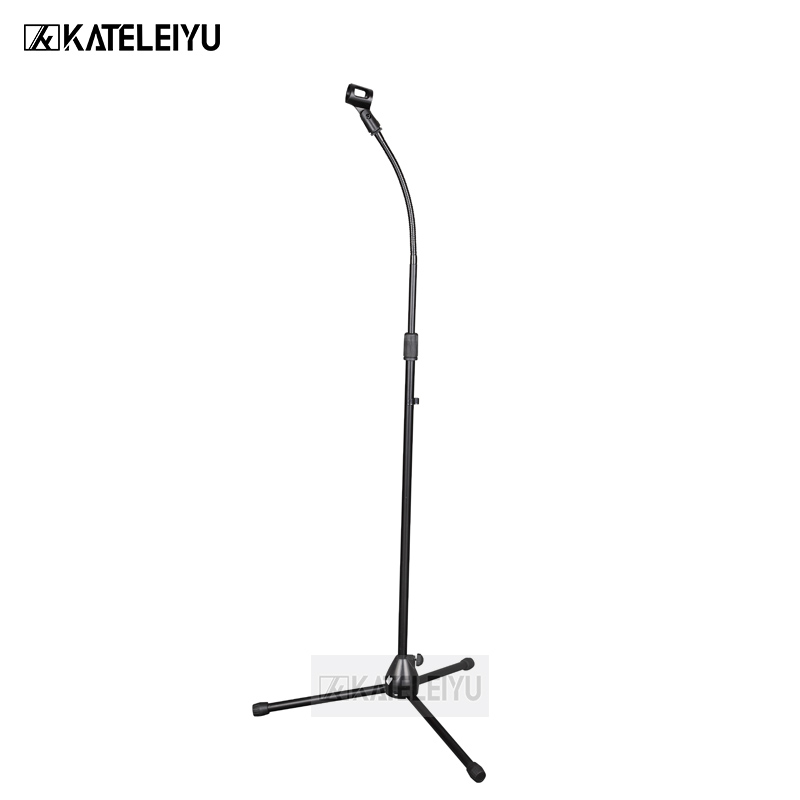 NB-302 Professional swing boom floor stand microphone holder Flexible Stage Microphone Stand Tripod