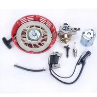 NEW ARRIVAL Ignition Coil Spark Plug Carburetor Carb Recoil Starte Fit Honda GX 390 13HP
