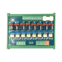 8 channel PLC AC Amplifier Board Optocoupler Isolation Positive and Negative Control PNP Contactless Relay 0V Trigger