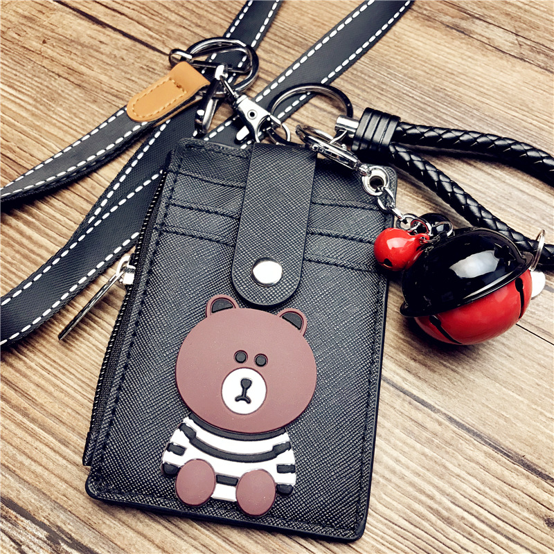 Coin Purses & Holders Smart Shiny Women Card Holder Wallet Id Holders Female Student Cardholder For Lolita Cute Star Transparent Laser Bank Credit Card Case Low Price