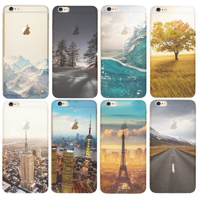 coque iphone 7 landscape