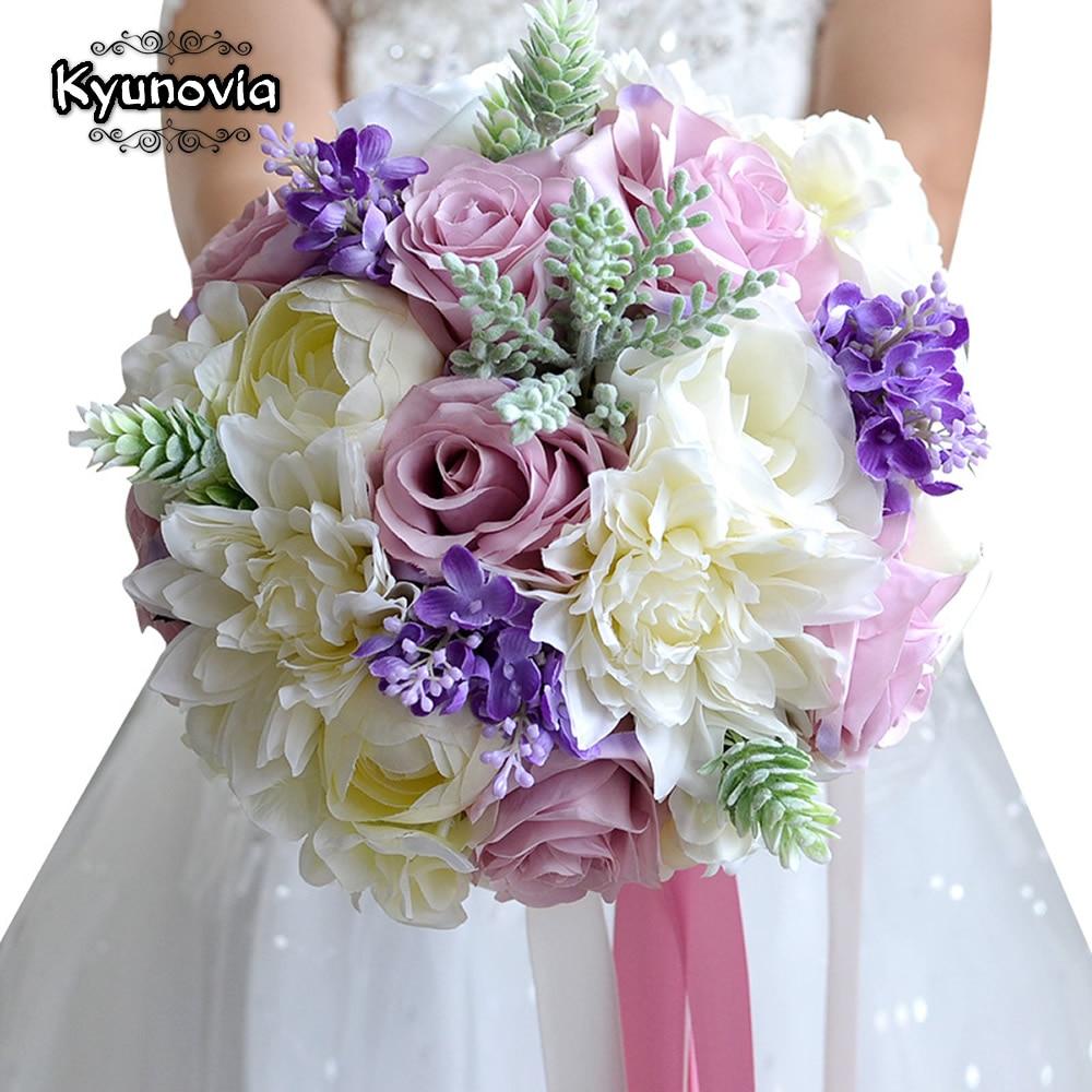 Wedding Bride Flowers: Kyunovia Wedding Flowers Bridal Bouquet Bridal Bridesmaid
