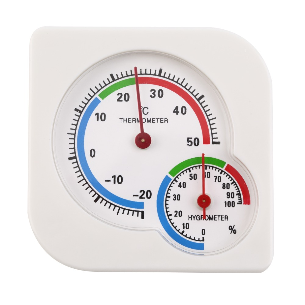 Home use Hygrometer Indoor Outdoor 2 In 1 Mini Accurate Wet Hygrometer Humidity Thermometer Temperature Meter Mechanical