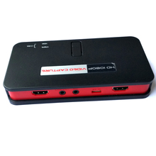 Live streaming function hdmi video capture card, convert HDMI/YPbPr to USB Flash Disk or SD Card directly, Free shipping