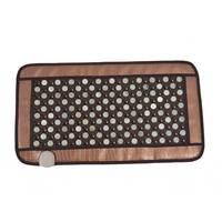 POP RELAX Healthcare Korea germanium tourmaline massage mat jade mattress electric heating therapy pad cushion nuga best 220V