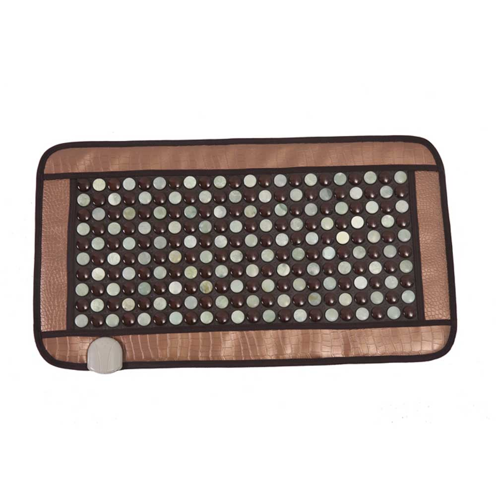 POP RELAX Healthcare Korea germanium tourmaline massage mat jade mattress electric heating therapy pad cushion nuga best 220V best selling korea natural jade heated cushion tourmaline health care germanium electric heating cushion physical therapy mat page 8