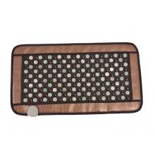 купить POP RELAX Healthcare Korea germanium tourmaline massage mat jade mattress electric heating therapy pad cushion nuga best 220V дешево