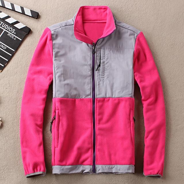 Burrima Women Top Fleece Jackets Waterproof Patchwork Embroidery Overcoat Hot basic Coat S-XXL 15colors available