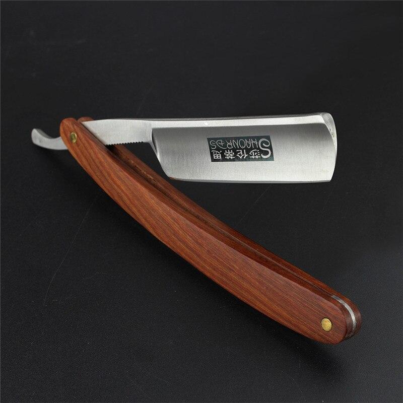 Sharonds Manual Shaver Professional Straight Edge Stainless Steel Sharp Barber Razor Folding Shaving Knife Shave Beard Cutter