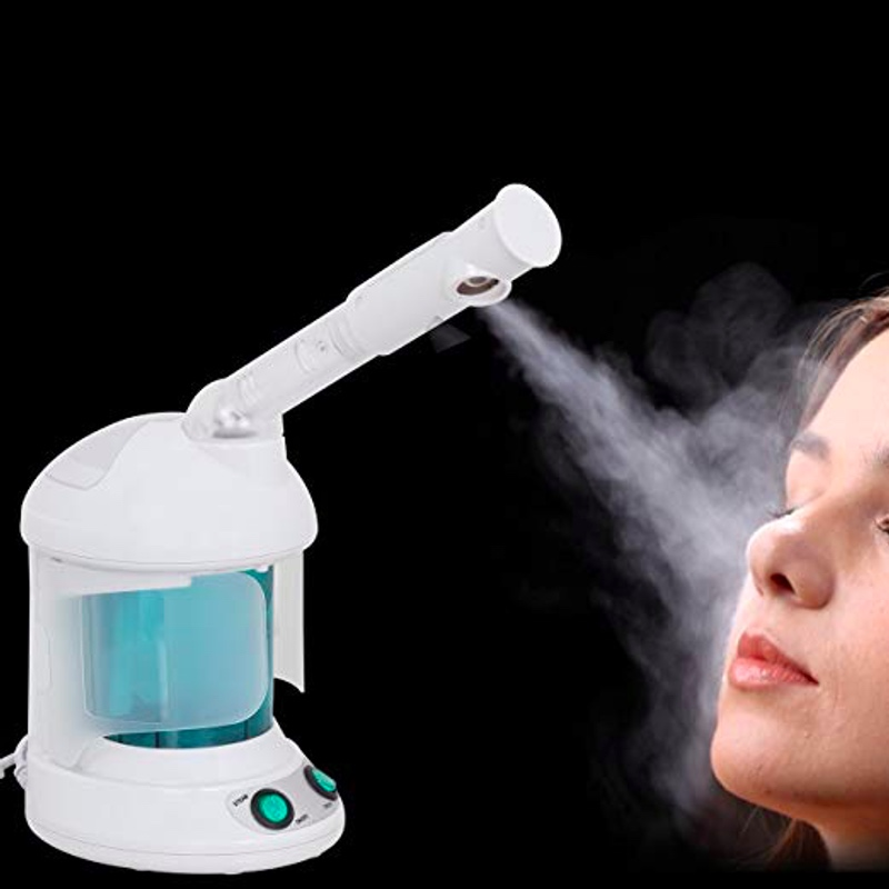 Image 4 - 2 in 1 Ozone Facial Spray Steamer, With Extendable Arm  Table Top Mini Spa Face Design, 360 Degrees Rotatable Spray Head-in Face Skin Care Tools from Beauty & Health