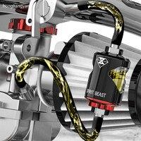 高品質ユニバーサル用スクーターオートバイオイルフィルター燃料フィルターオイルフィルター除去不純物送料無料