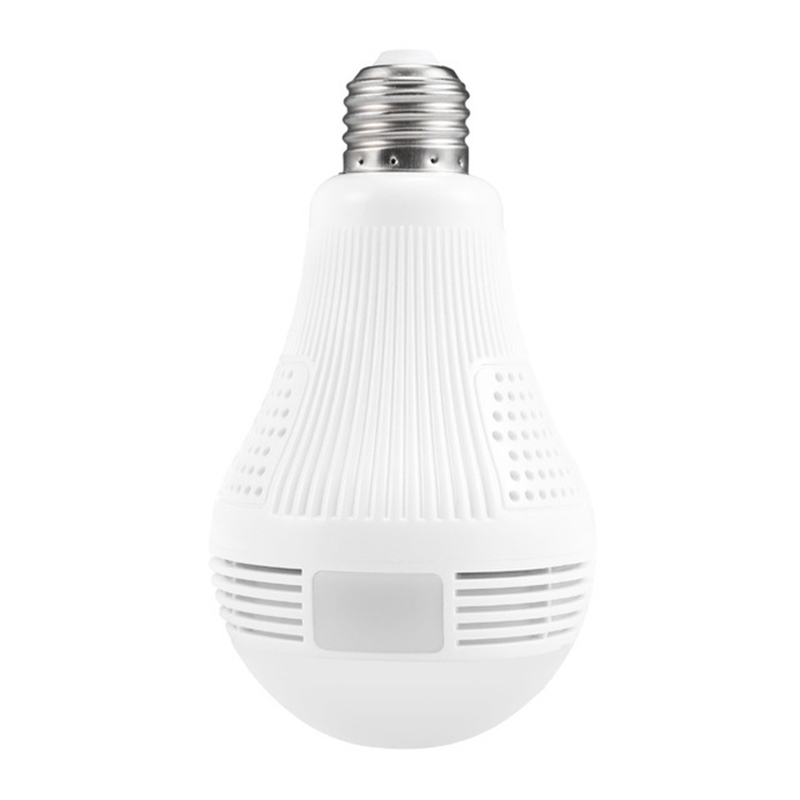 1.3MP Bulb Light Wireless IP Camera Panoramic Wi-Fi Lamp FishEye WIFI Camera 360 Degree  ...