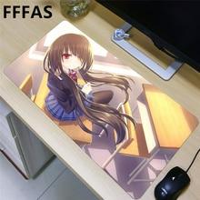 FFFAS 80x40cm L XL XXL Japan Anime large Mousepad gaming Mouse pad wife girl friend sister Nightmare Tokisaki Kurumi DATE A LIVE