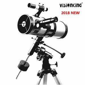 Image 5 - Visionking 1000 114 ミリメートル赤道マウント宇宙天体望遠鏡ハイパワースター/ムーン/サターン/木星天文望遠鏡