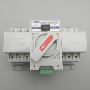 Image 4 - 3P 63A 380V 50/60hz 3 wire MCB type Dual Power Automatic transfer switch ATS