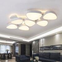 Современные светодиодный верхнего света для Living Ресторан Спальня удаленного Deluxe большой 1,3 метра белый Потолочный светильник Бесплатная о