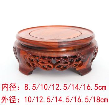Rosewood carving furnishing articles household act the role ofing is tasted of Buddha solid wood crafts special  base