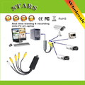 4 Channel usb 2.0 video realtime capture usb dvr cards board to VHS to DVD Capture Adapter for CCTV system