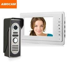 [ Special Offer ] 7″ Monitor Video Doorbell Door Phone Kit IR Night Vision Door Camera Video Intercom visual intercom system