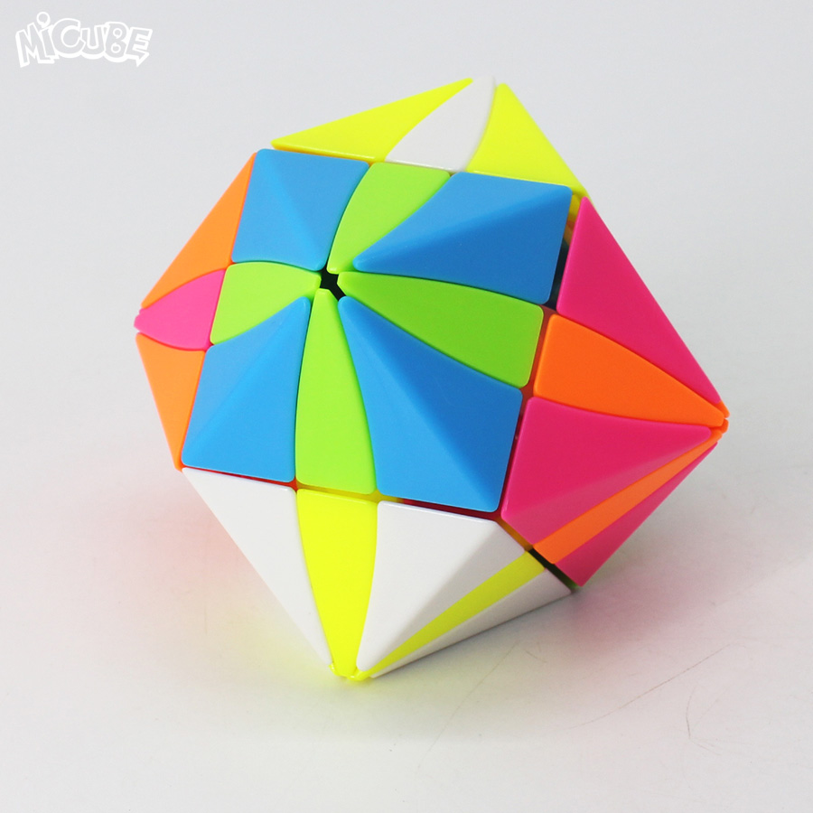 Magic Eye Cube Stickerless Magic Cubes 3x3x3 Moyan Cube Twist Magic Cube Puzzle Toys For Children Special Magico Cubo 3x3